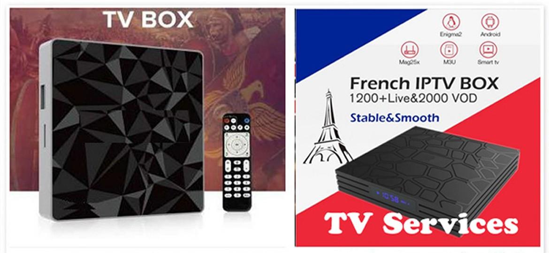 Distributeur de vos nouvelles Box TV